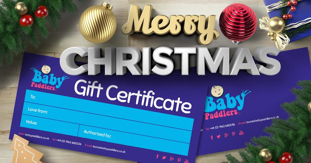 baby swimming gift voucher
