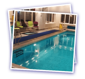 Cranleigh Ryddenwood private pool snapshot